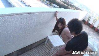 JAVHUB Ami Ishihara gets fucked and squirts outdoors